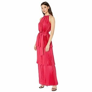NWT Juicy Couture Pleated Halter Maxi Dress